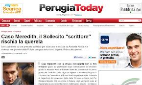 """Perugia Today showing it's """"Sister Cityhood"""" to Seattle."""