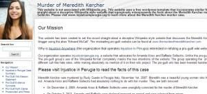 www.murderofmeredithkercher.com