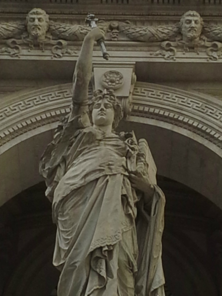 Triumph of Justice in Rome